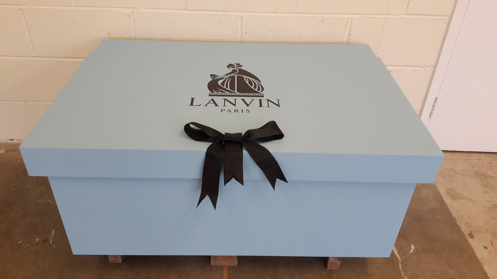 Lanvin inspired XL Trainer Storage Box - Holds 16no pairs of trainers