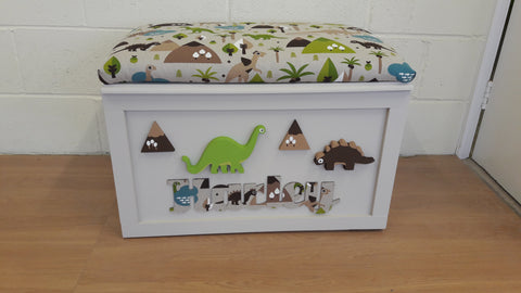 Handmade seated Toy Box