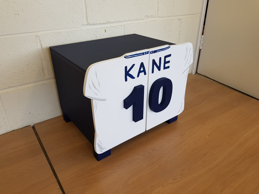 Football Shirt Storage Cabinet - Holds 4no pairs of trainers