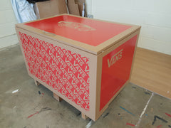 Vans inspired XL Giant Trainer Shoe Storage Box - Holds 24no pairs of trainers