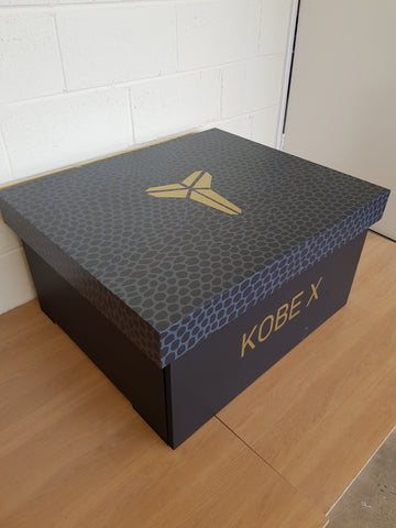 Kobe inspired XL Trainer Storage Box - Holds 12no pairs of trainers