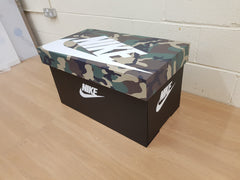 Nike inspired XL Trainer Storage Box - Holds 6no pairs of trainers