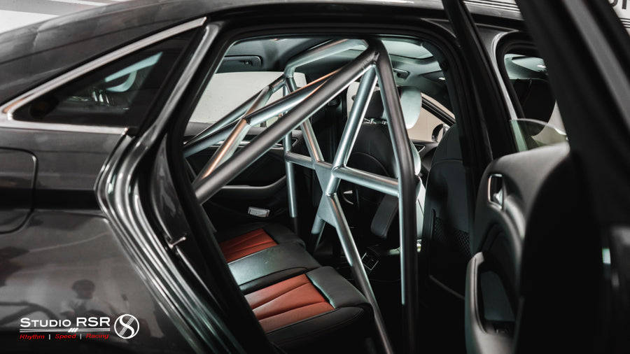Audi S3 Roll cage by StudioRSR for Allroad Outfitters Widebody-12