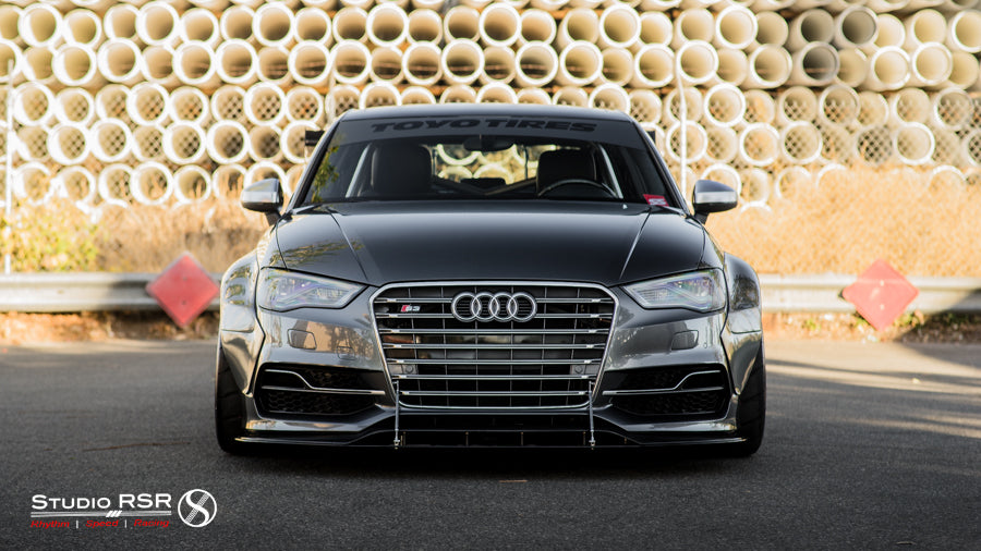 Audi S3 Roll cage by StudioRSR for Allroad Outfitters Widebody-6