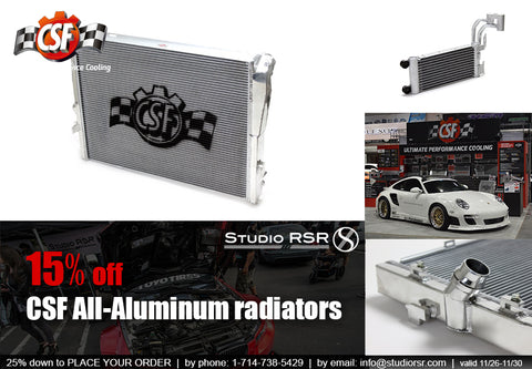 CSF Radiators-Studio RSR-Aluminum Radiators