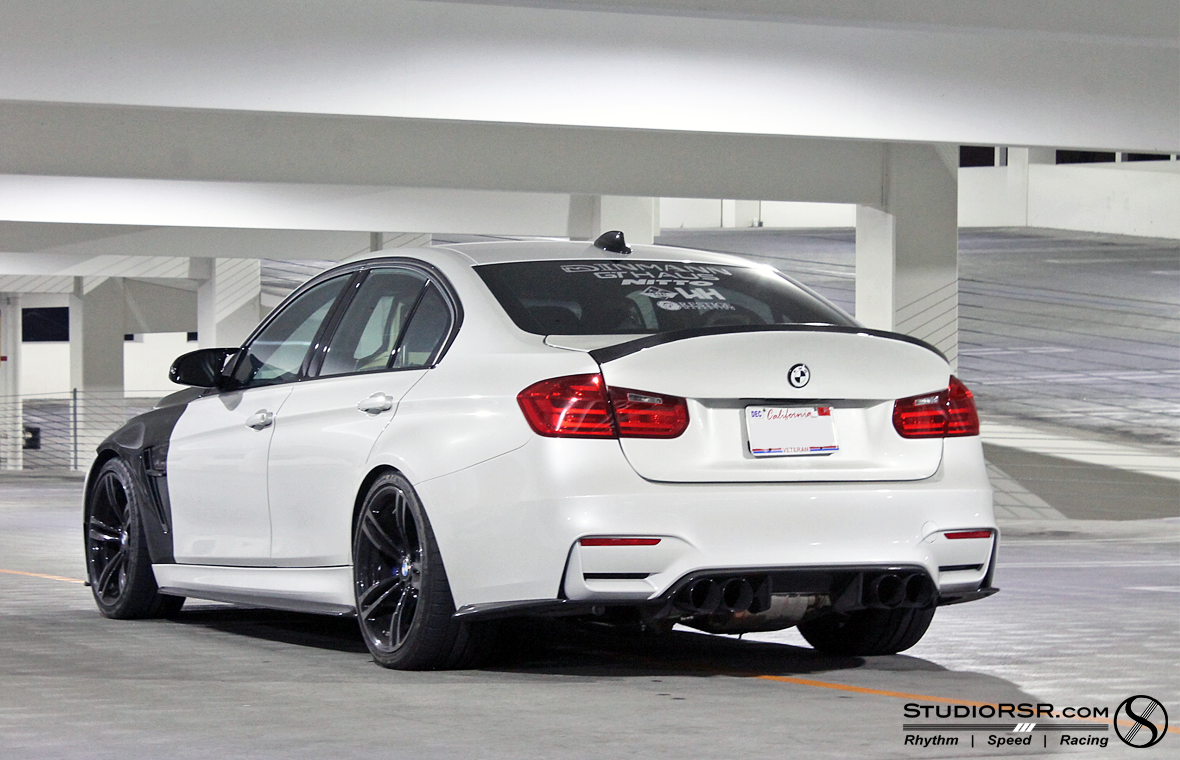 F80 M3 M4 Trunklid carbon fiber