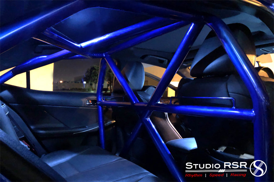 Lexus IS350 roll cage by StudioRSR