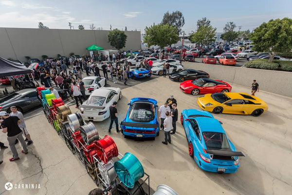 MFest F.M.Y. - First Meet of the Year at Savini Forged wheels