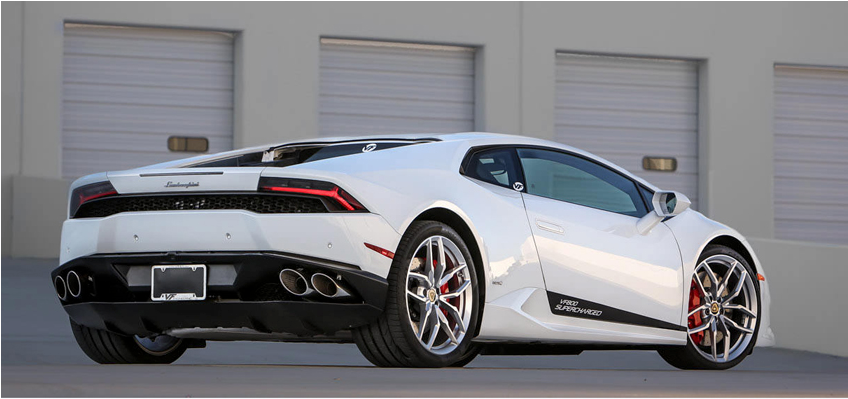 Official: World's 1st Supercharged Lamborghini Huracan