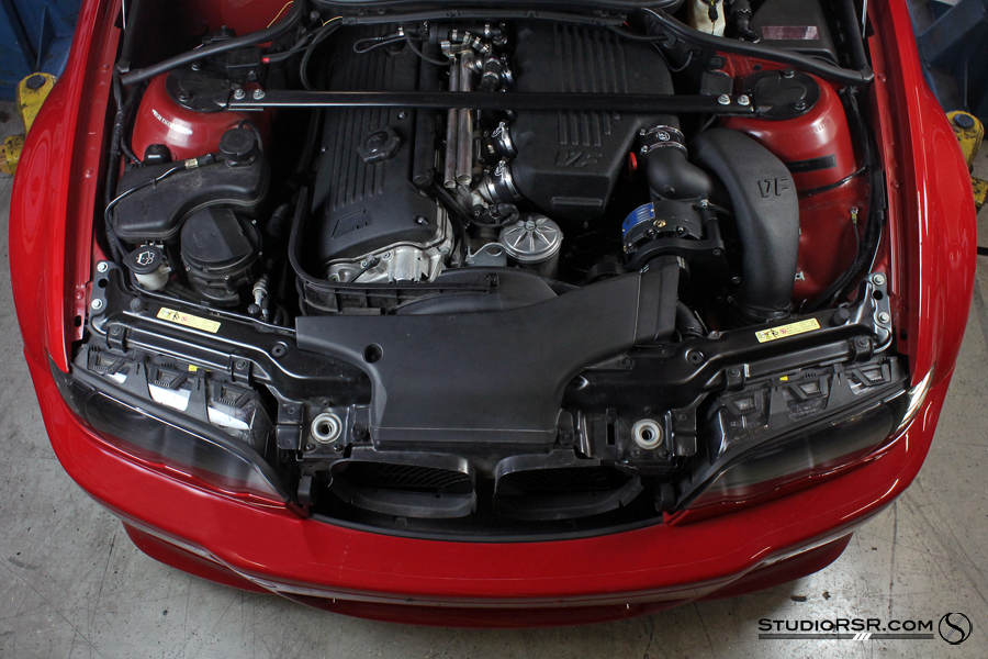 M3 tuning for Supercharged E46 VF570