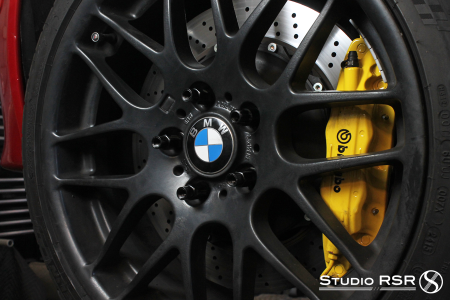 E46 M3 Extended lugs stud conversion