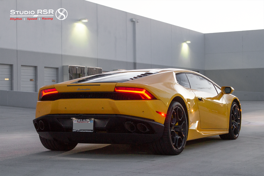 Huracan ECU software tune by VF-Engineering at StudioRSR