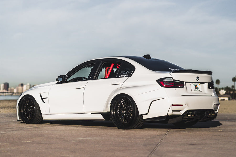 PSM Dynamic Widebody F80 M3 debuts with StudioRSR F80 M3 Roll Cage