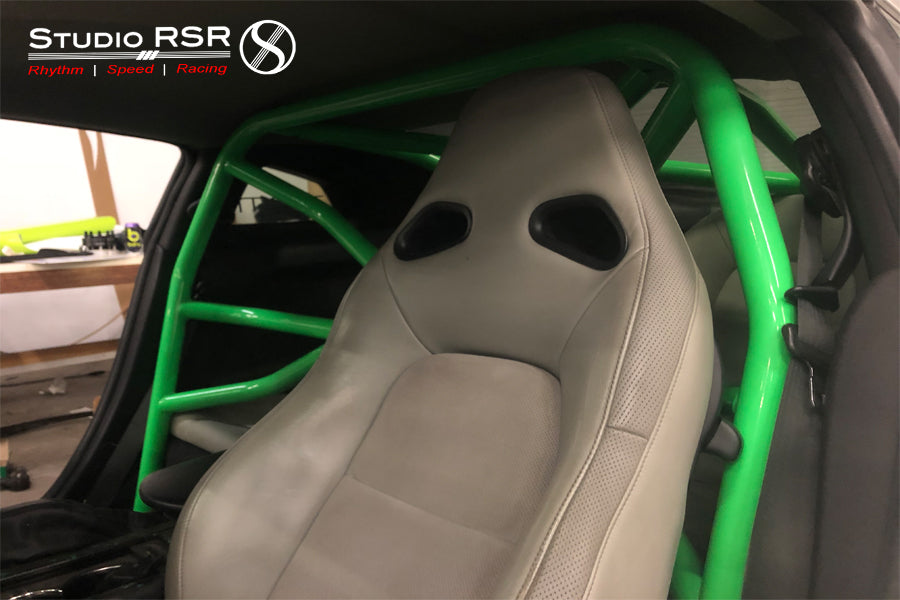 StudioRSR roll cage for GTR in PSM GTR Widebody