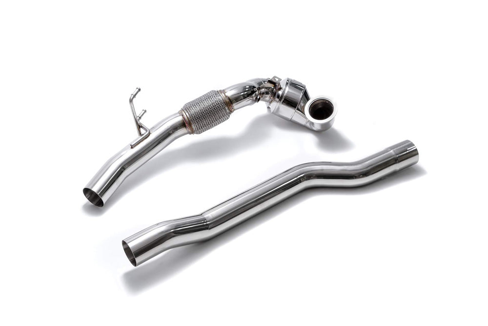 ARMYTRIX Sport Cat-Pipe with 200 CSPI Catalytic Converters | Secondary Downpipe Audi TT MK3 8S 2.0L TFSI 2015-2020