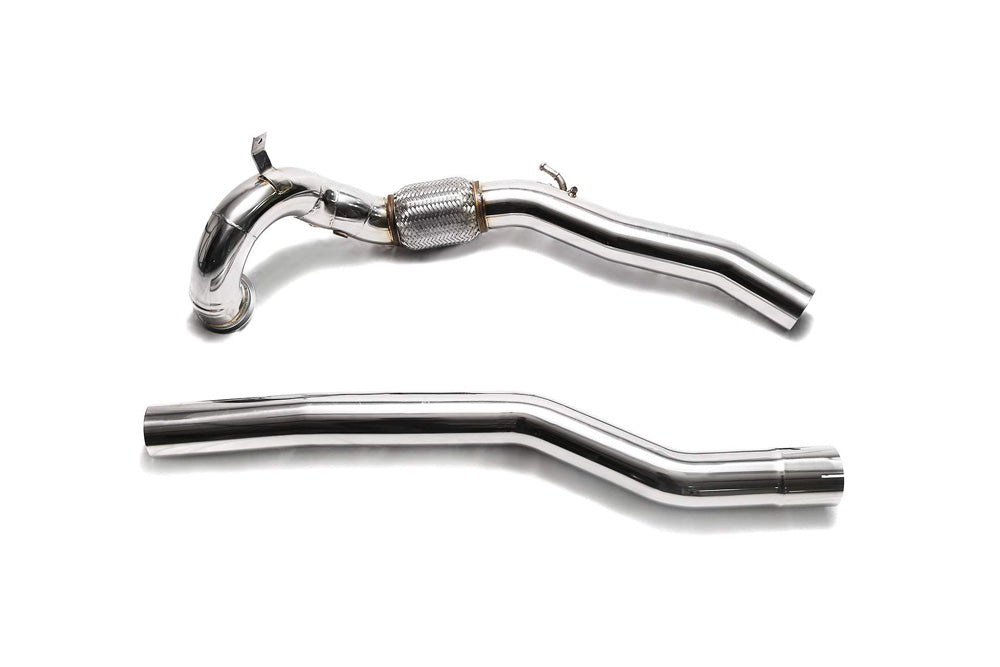 ARMYTRIX High-Flow Performance Race Downpipe / Secondary Downpipe Audi S3 8V | VW Golf R MK7