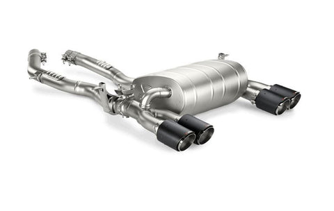 Akrapovic Slip-On Titanium Exhaust System - BMW F80 M3, F82 M4 - Exhaust - Studio RSR - 1