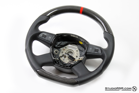 Dinmann Audi performance Carbon Fiber Steering wheel - Interior - Studio RSR - 1