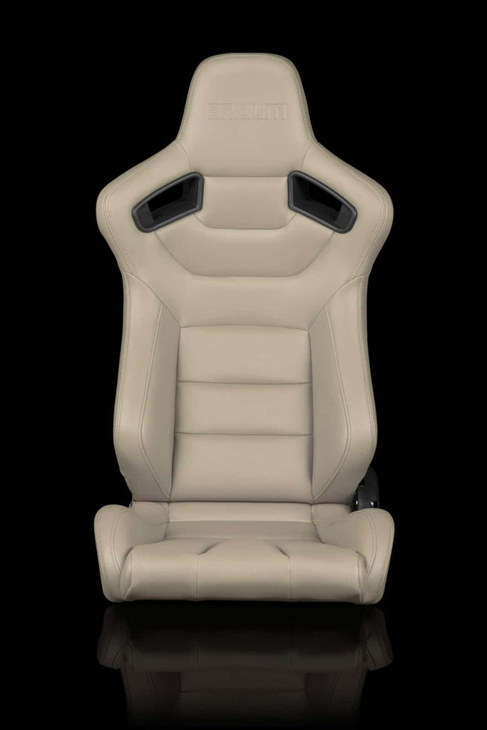 BRAUM ELITE SERIES RACING SEATS (BEIGE) – PAIR