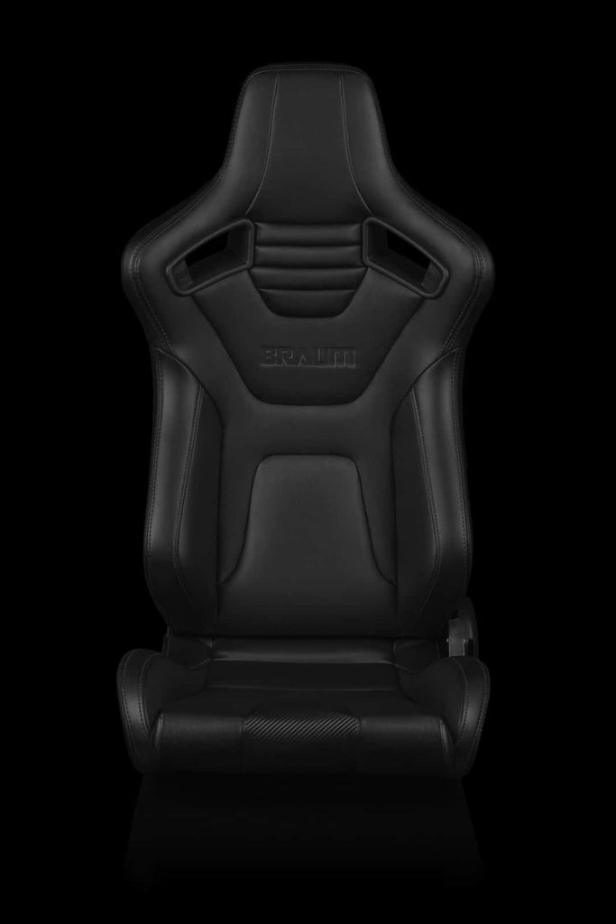 BRAUM ELITE-X SERIES RACING SEATS (BLACK STITCHING) – PAIR