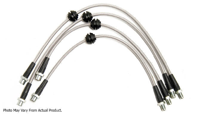 Challenge Stainless Steel Braided Brake Lines - BMW E60 M5 / E6x M6 - Brakes - Studio RSR