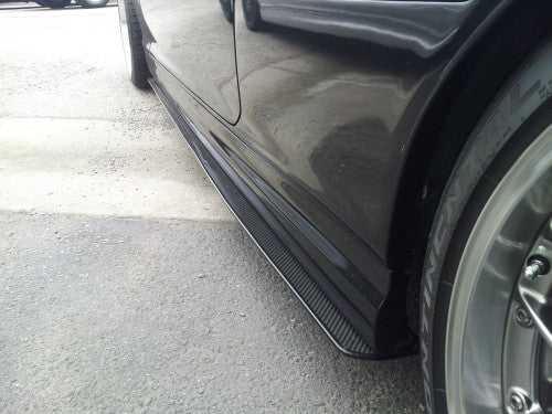 Carbon Fiber Side Skirts for the BMW E46 -  - Studio RSR
