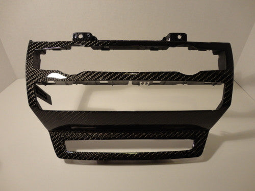 Carbon Fiber Stereo and A/C Trim for the BMW E70 X5M/X6M - Interior - Studio RSR