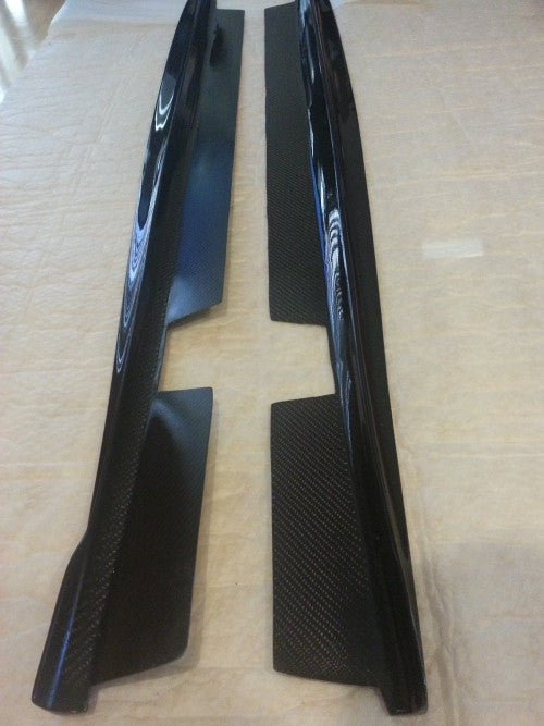 Carbon Fiber Side Skirts for the BMW E90 M3 - Exterior - Studio RSR