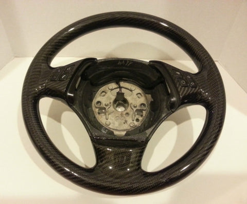 Carbon Fiber Steering Wheel for the BMW E90/E92/E93 M3 -  - Studio RSR