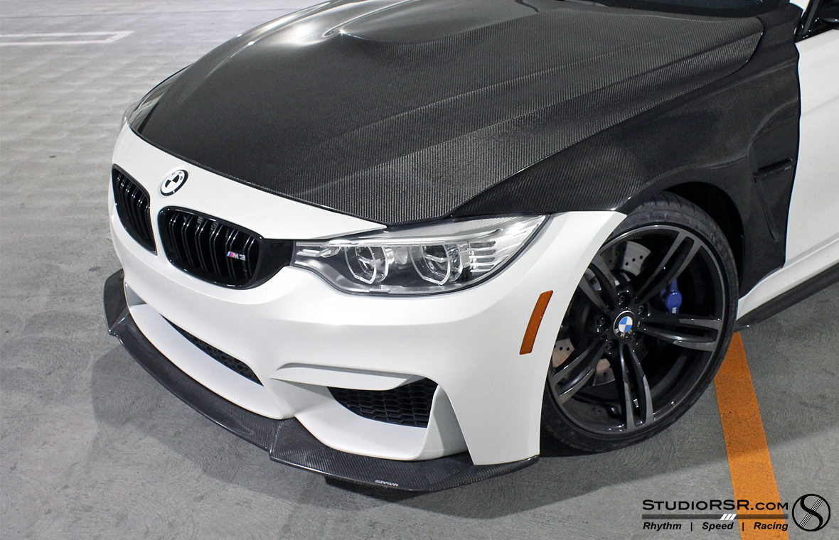 bmw m4 f80 m3 front spoiler splitter carbon fiber. Black Bedroom Furniture Sets. Home Design Ideas