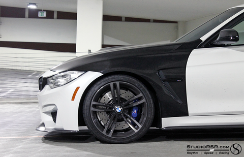 Carbon Fiber Fenders for BMW F80 M3 | F82 M4 - Exterior - Studio RSR - 1