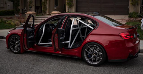 StudioRSR Cartesian CWC BMW F80 M3 Full Roll cage / Roll bar
