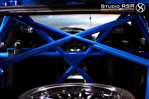Ford Focus Roll Cage / Roll Bar by StudioRSR