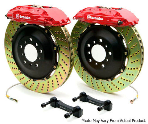 Brembo GT Big Brake Kit 380mm 4 Pot - BMW E46 M3 / E8x Z4M - Brakes - Studio RSR - 1