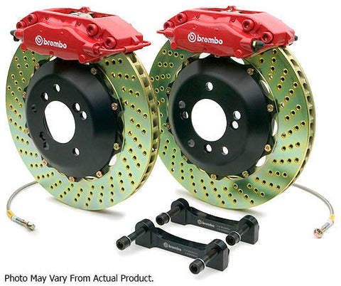 Brembo GT Big Brake kit 380mm 4 Pot (Rear) - BMW E9x M3 - Brakes - Studio RSR - 1