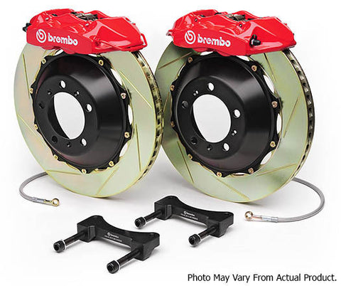 Brembo GT Big Brake Kit 345mm 2pc 4-Pot - BMW E46 M3 - Brakes - Studio RSR - 1