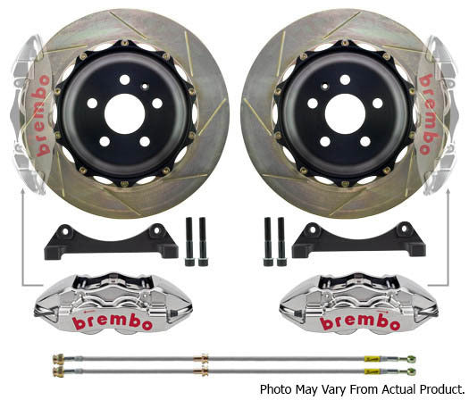 Brembo GTR BIg Brake kit 345mm 4 Pot (Rear) - BMW E46 M3 - Brakes - Studio RSR