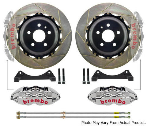 Brembo GTR BIg Brake kit 355mm 4 Pot - BMW E46 M3 / E8x Z4M - Brakes - Studio RSR