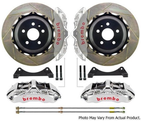 Brembo GTR Big Brake kit 380mm 6 Pot - BMW E9x M3 / E82 1M - Brakes - Studio RSR - 1