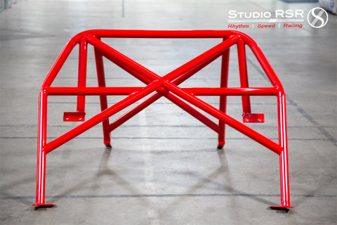 StudioRSR Corvette C6 Roll cage / Roll bar (4-point)