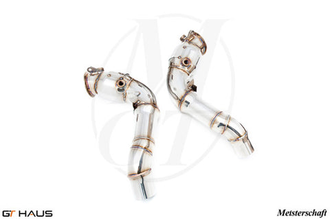 GTHaus Meisterschaft Downpipes for BMW M5 / M6 (F10 / F12 / F13) - Exhaust - Studio RSR - 1