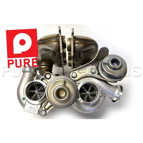 PURE Stage 2 Turbos for BMW N54