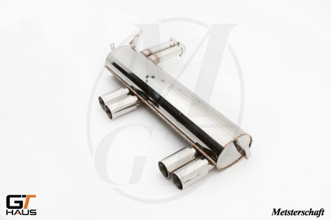 GTHaus Meisterschaft Rear Section Exhaust for BMW M3 E46 - Exhaust - Studio RSR - 1