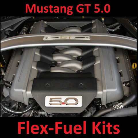 FORD MUSTANG 5.0 FLEX FUEL