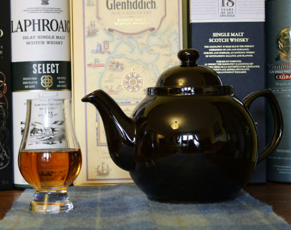 Tea and Scotch Pairing - January 17th