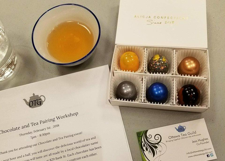 Chocolate and Tea Pairing - June 27