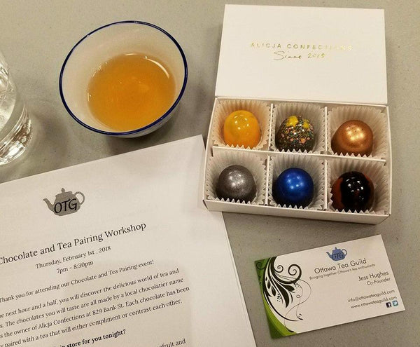 Chocolate and Tea Pairing - November 1