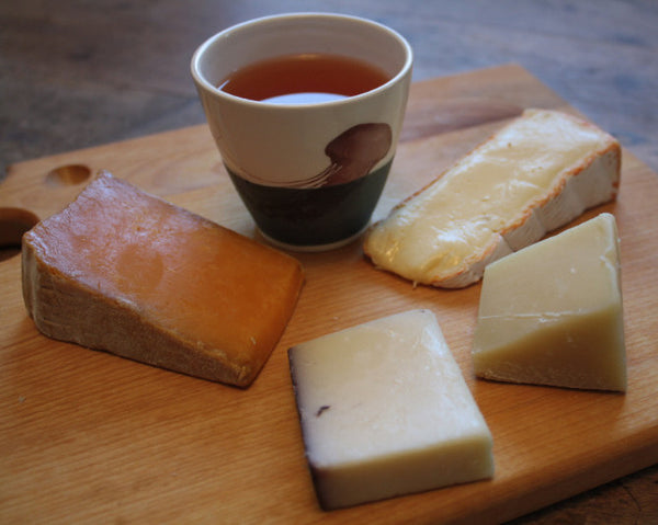 Tea and Cheese Pairing - September 27