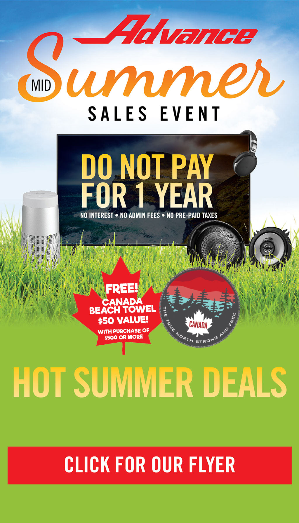 Advance Mid Summer Sales Event