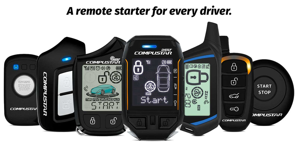 Compustar. A remote starter for every driver.